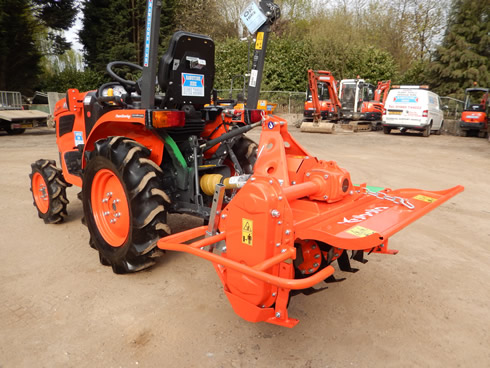 Photo of Kubota Compact Tractor