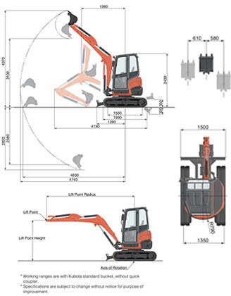 2 5 Ton Mini Excavator • Plant, Tool, Access and Self-Drive