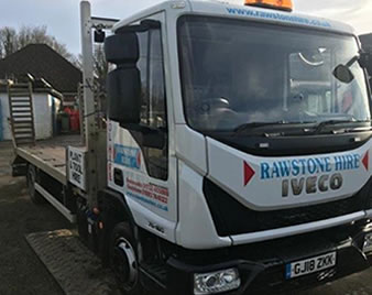 7,500Kg 4-Wheel Plant Lorry