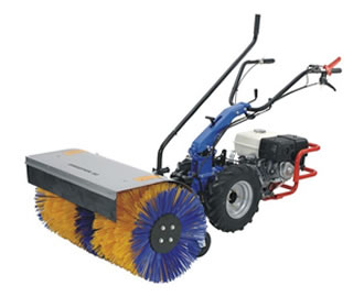 Camon Pedestrian Petrol Driven Sweeper Brush