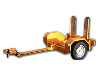 71cm Single Drum Roller Trailer