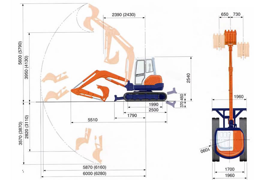 Pleasant 5 0 Ton Mini Excavator Plant Tool Access And Self Drive Vehicle Wiring 101 Ferenstreekradiomeanderfmnl