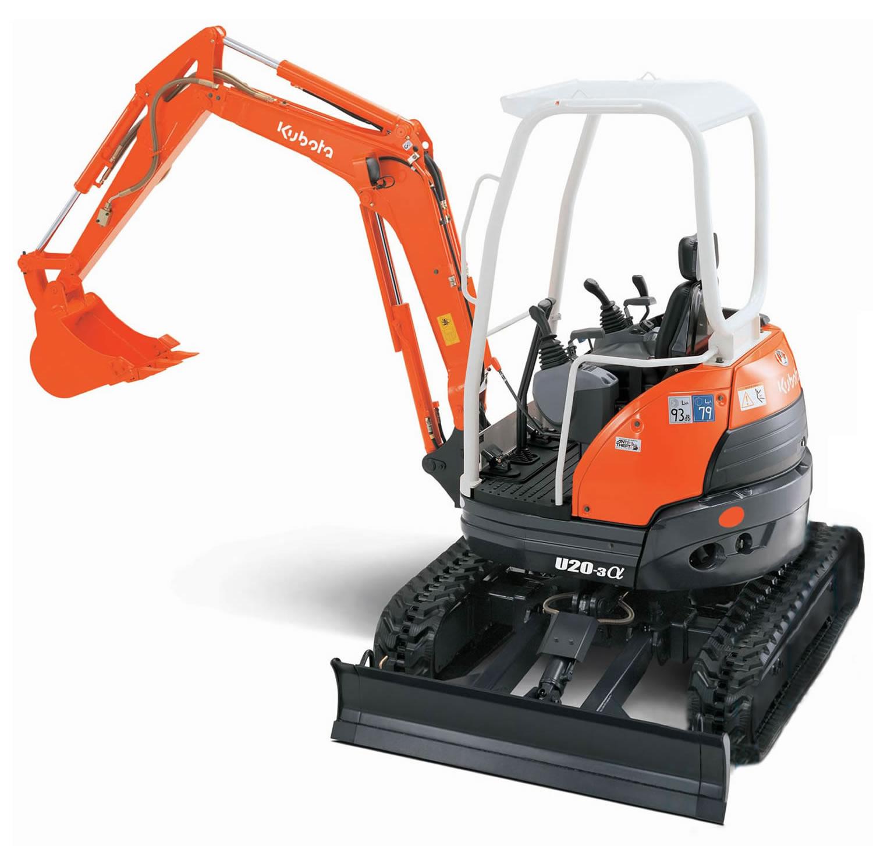 2 0 Ton Mini Excavator • Plant, Tool, Access and Self-Drive