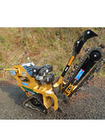 Tracked Trenching Machine
