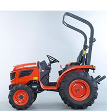 Compact 4WD Tractor