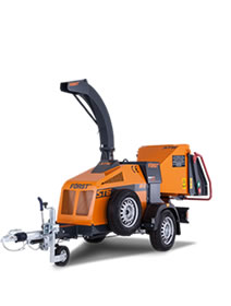 Forst ST6 6 Towable Chipper For Hire From Rawstone Hire Godstone, Surrey and Sevenoaks, Kent