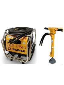 Heavy Duty Hydraulic Breaker Unit - Petrol For Hire From Rawstone Hire Godstone, Surrey and Sevenoaks, Kent